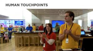 Lidský touchpoint ukázka