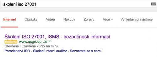 """PPC reklama na Google. Tady se dá """"koupit"""" první místo :)"""